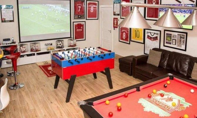 Most Fun Garage Game Room Ideas