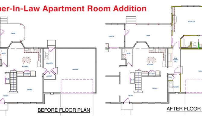 Mother Law Apartment Floorplan House Plans