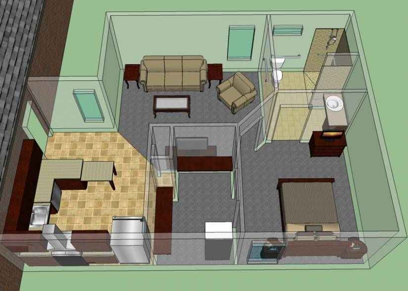Mother Law Suite House Plans Floor Home
