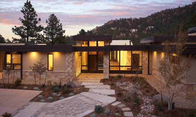 Mountain Living Contemporary Homes Mosaic Architects Boulder