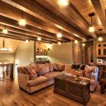 Mountain Style Home Decorated Rustic