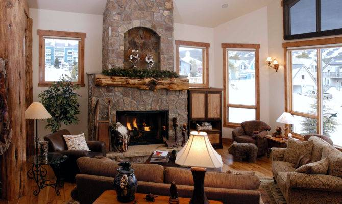 Mountain Style Home Interiors House Design Plans