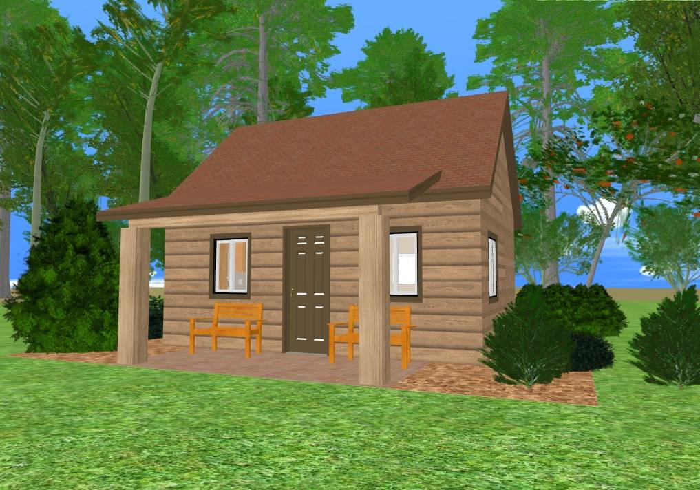 Mountain Tiny House Floor Plan Cozy Home Plans