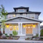 Muddy River Design Foursquare Style House Plan Bend Oregon
