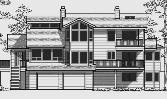 Multi Level Cottage House Plans