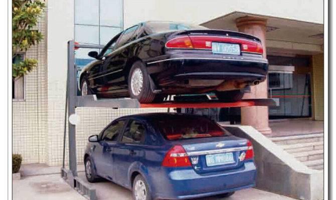 Multi Level Steel Parking Lift Mechanical