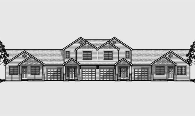 Multiplex House Plans Multi Level