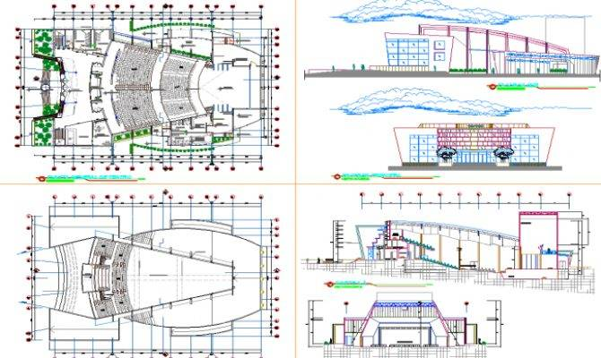 Multiplex Theater Plan