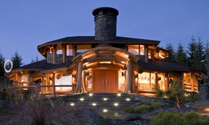 Murray Arnott Design Log Home Neighborhood