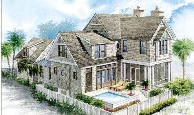 Nantucket House Plan Watersound Gulfview