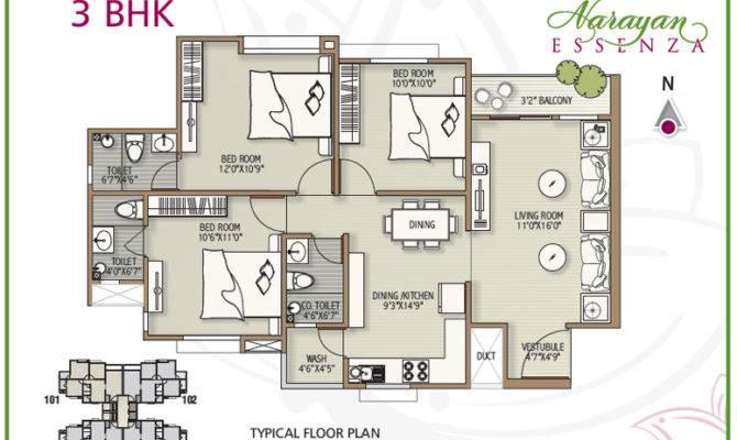 Narayan Essenza Layout Plan Location House Penthouse