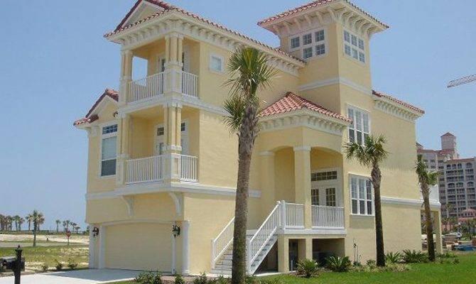 Narrow Lot Beach House Plans Imgkid