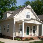 Narrow Lot Bungalow Home Plan Floor Master