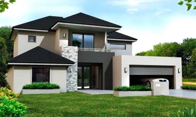 Narrow Lot Home Designs Two Storey