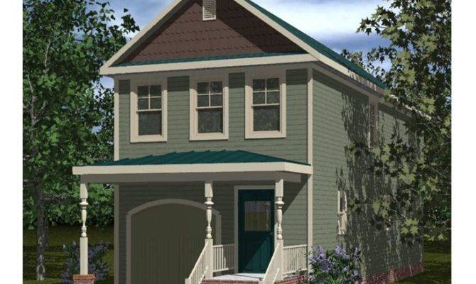 Narrow Lot Home Plans Affordable House Plan
