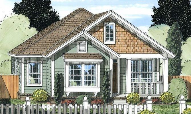 Narrow Lot Home Plans Ranch House Plan