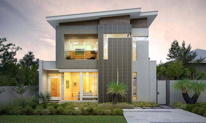 Narrow Lot Homes House Design Plans