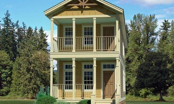 Narrow Lot Homes Very House Plans