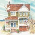 Narrow Lot House Plan Project Rebuilding Shore