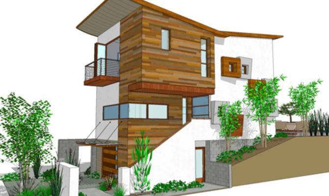 Narrow Lot House Plans Three Story Home Design Style