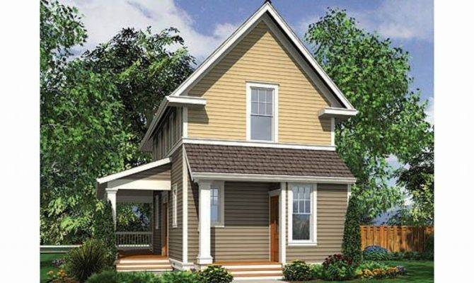 Narrow Lot Houses Small Home House Plans Lots