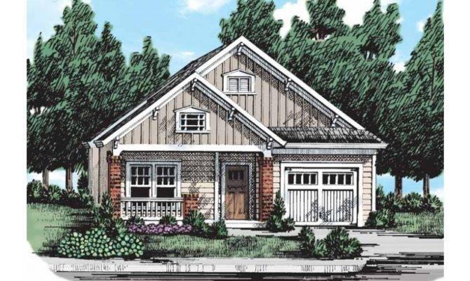 Narrow Lot Problem Solved Hwbdo Bungalow Builderhouseplans