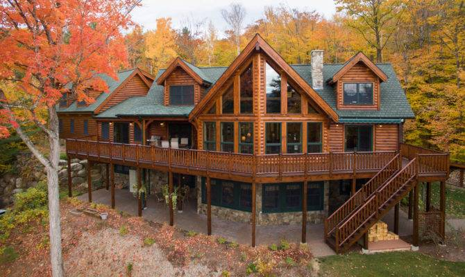 Natural Element Homes Log Hybrid Timber
