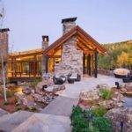 Natural Stone House Design Ideas Two Creeks Residence