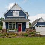 Navy Blue House Houzz