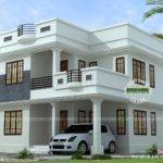 Neat Simple Small House Plan Kerala Home Design Floor Plans