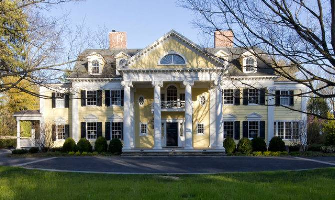 Neoclassical Home Traditional Exterior New York