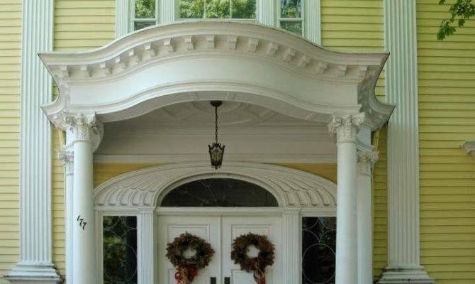 Neoclassical Revival Doorway Providence Rhode Island