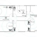 Network Building Design Office Layout