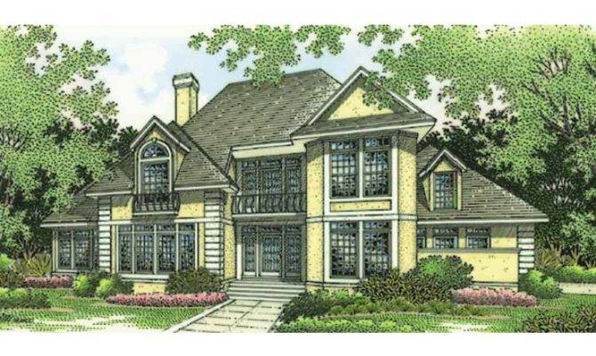 New American House Plan Stucco Home Intriguing Floor