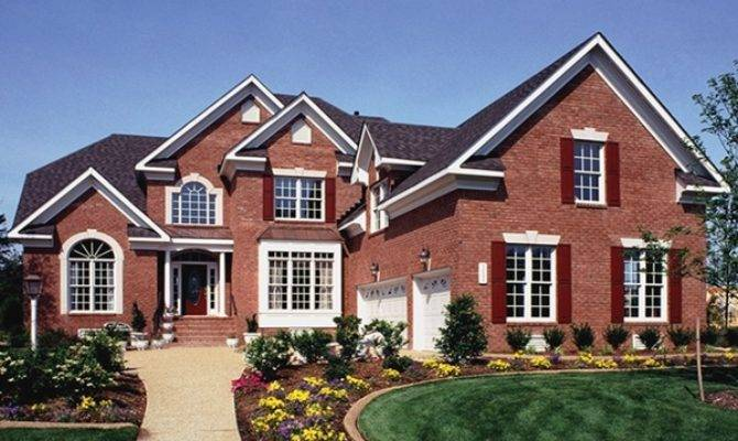 New American House Plans Home Dream