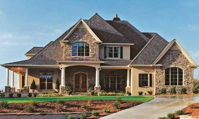New American Style House Plans