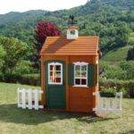 New Big Backyard Bayberry Ready Assemble Wooden Playhouse Kids Chr