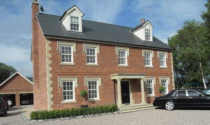 New Build Georgian Manor House Incorporating Cream Foil Vertical