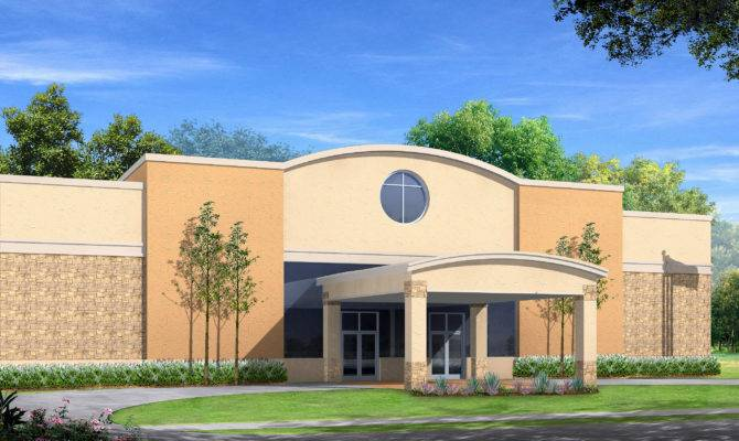 New Church Building Designs Alvinmissionarybaptistchurch
