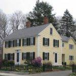 New England Colonial Historical Home Historic Homes Pinterest