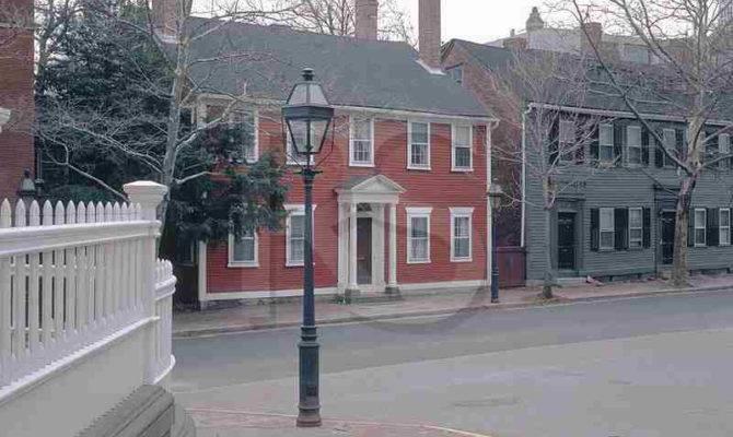New England Colonial Home Exteriors Beautiful Doors Pinterest