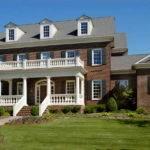 New England Colonial Home Plans Design