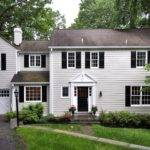 New England Colonial Home Sweet Exteriors Interiors Pinte