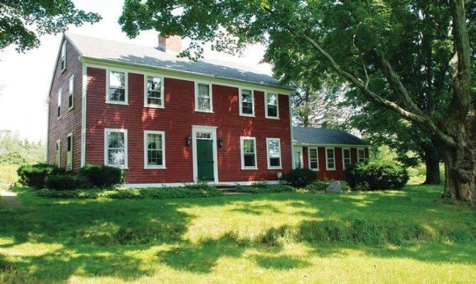 New England Dutch Colonial Homes Pinterest