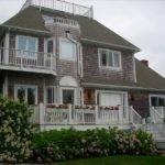 New England Shingle Style House Widow Walk
