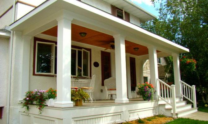 New Front Porch Traditional Minneapolis