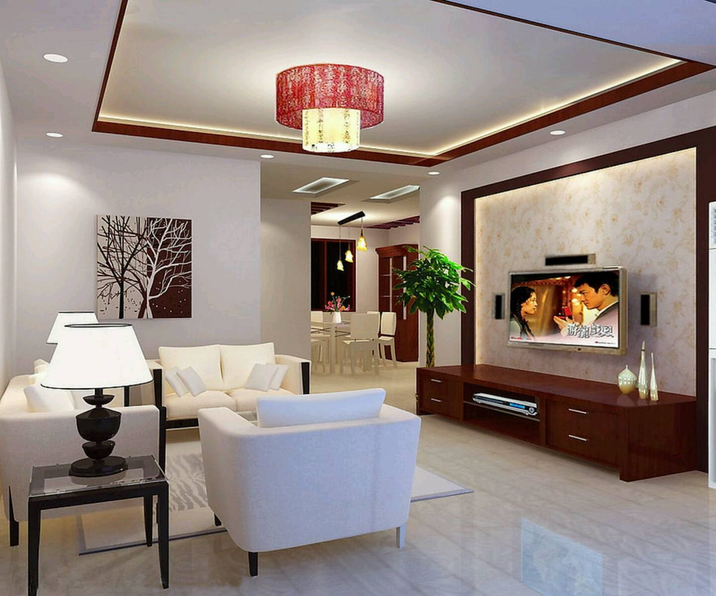 New Home Designs Latest Modern Interior Decoration Living Rooms