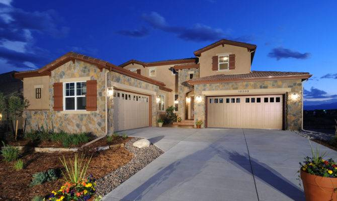 New Homes Peyton Meridian Ranch Colorado Springs