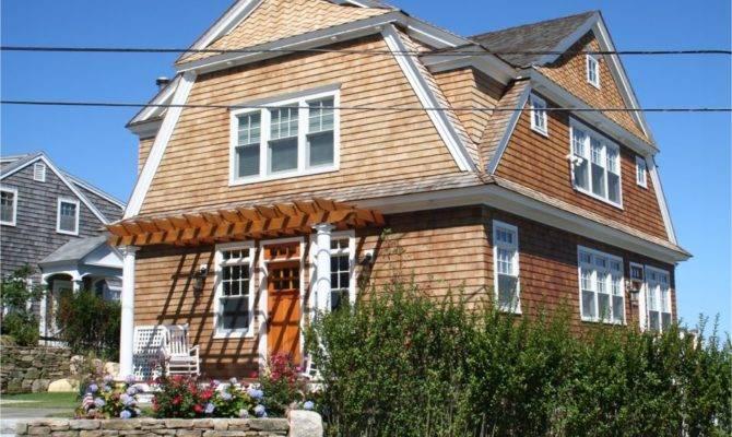 New House Detailed Red Cedar Shingles