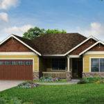 New House Plan Cottage Ranch Home Northfield